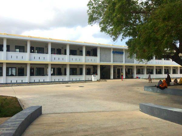 Mkoani Hospital on Pemba Island, Zanzibar