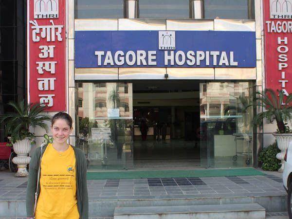 Hospital internships and electives at Tagore Hospital in Jaipur, India
